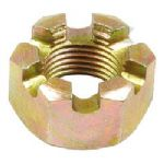 "3/4"" UNF Slotted Nut x 1"